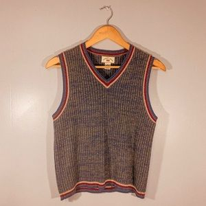 Vintage Sweater Vest Knitted 90s